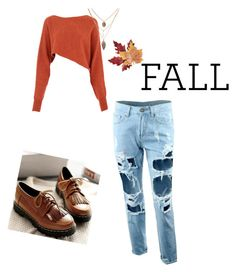 """""""Fall"""" by q-griffin on Polyvore featuring Crea Concept, Nouvelle Footwear and Croft & Barrow"""