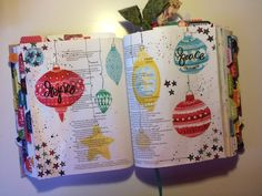 Bible Journaling using Illustrated Faith's Print & Pray Shop. Easy journaling ideas! Follow me on Instagram @fortytwoandtwobiblejournaling #biblejournaling #biblejournalingideas #advent #illustratedfaith #printandpray #biblejournalingcommunity