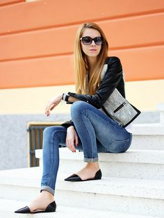 """♥ this look on @What I Wear .com by KAROLINA JO """"PRINT LEATHER JACKET"""" http://www.whatiwear.com/look/detail/186698"""