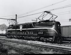 PRR ... PRR 4868 Pennsylvania Railroad GG-1 at Unknown, New York by Rail Archive Stephenson