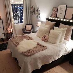 Best Way To Make Home Decor On A Budget Apartment Small Rooms Living Room . - best way to get home decor on a budget apartment small rooms living room – room - Cute Bedroom Ideas, Cute Room Decor, Girl Bedroom Designs, Room Decor Bedroom, Living Room Decor, Girls Bedroom, Small Bedroom Decor On A Budget, Cozy Bedroom, Dorm Room