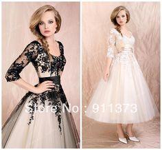 Nuevo 2013 de la boda vestidos noche de baile vestidos de novia blanco / negro Lace Custom en Vestidos de Novia de Bodas y Eventos en AliExpress.com | Alibaba Group