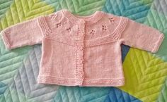 filoturchino: baby Baby Cardigan, Tricot Baby, Pamela, Baby Knitting Patterns, Knitting Ideas, Kids And Parenting, Free Pattern, Baby Kids, Knit Crochet