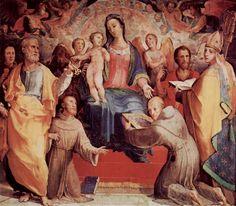 Madonna in gloria (1518; Siena, Oratorio di San Bernardino)