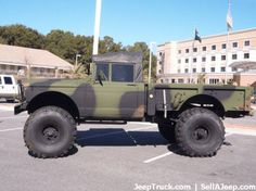 Jeep/Kaiser Jeep M715 lifted