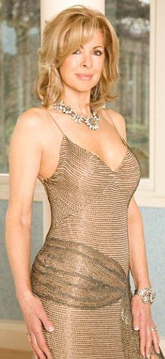 former Vogue model Nina at age 60.