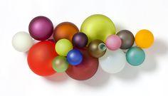 Nicolas Sartor | Applique globule multicolore | 1/2