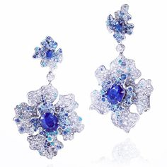 Chinese Orchid Earring #annahuhautejoaillerie