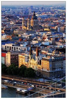 "Budapest, ""Hungary the Heart of Europe "" Places Around The World, Travel Around The World, Around The Worlds, Prague, Places To Travel, Places To See, Wonderful Places, Beautiful Places, Bósnia E Herzegovina"