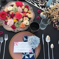 Sentimento primaveril à mesa. Spring feeling at the table  #Herdmar #Stick #avestirasuamesadesde1911 #dressingyourtablesince1911  Luna Wild Design ©