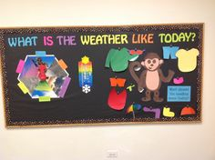 What is the weather like today? Science. Toddler/preschool. Interactive Display.