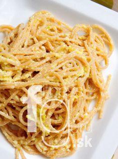 Celozrnné špagety s kelovým pestom