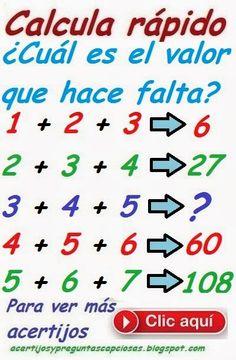 Acertijos matemáticos y preguntas capciosas: 2014-01-12