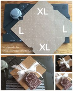 rectangle boxes with the punchboard