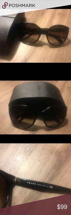 Prada Cat Eye Sunglasses SPR 230 Beautiful sunglasses in excellent condition Prada Accessories Glasses