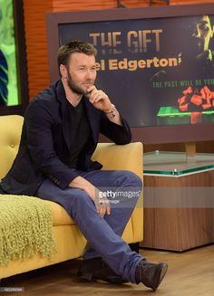 Joel Edgerton is seen on the set of Despierta America to promote the film 'The Gift' at Univision Studios on July 2015 in Miami, Florida. Joel Edgerton, Miami Florida, Promotion, Studios, The Past, God, Film, Dios, Movie