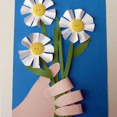 Hand-y Bouquet Card