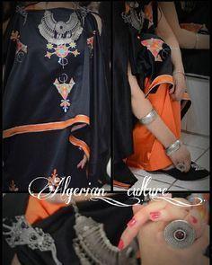 Algerian Fashion: Chaoui dress #algeriantraditionaldresses #Algérie #الجزائر #Algeria