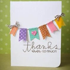 washi tape greeting card - Yahoo! Image Search Results