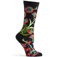 ozone design womens african florals sock – Ozone Design Inc