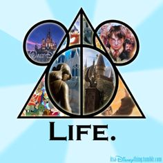 describes me perfectly...disney and harry potter