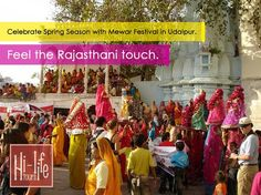 Celebrate Spring Season with Mewar Festival in Udaipur. Feel the Rajasthani touch. http://www.hltt.in/fair-festival/mewar-festival-udaipur.html