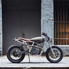 "Gnarly XR650 ""Cabin Fever"" by @danielpeterphoto"