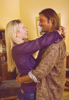 "Juliette Burke and James ""Sawyer"" Ford from ""LOST""."