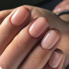 This Is The Best Nude Nail Polish For Your Skin Tone - neutral nails Natural Nail Designs, Short Nail Designs, Neutral Nails, Nude Nails, Acrylic Nails, Hair And Nails, My Nails, Fall Nails, Summer Nails
