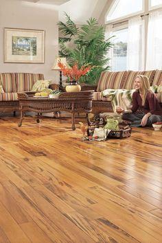 Gorgeous design exotic wooden floor