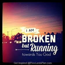 Running into the Might Arms of my Saviour JESUS  CHRIST .