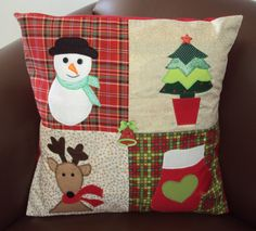 pillow with christmas tree - Google Search