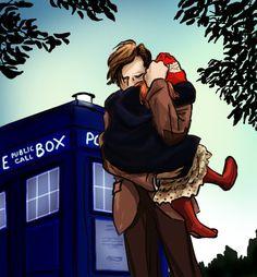 Doctor Who Fanart | Doctor Who AMAZING Fanart!!!! --- awwwwwww, Doctor and little Amy Pond!!