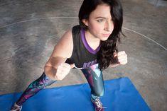HIIT those 27 laps hard - Roller Derby Workout Video! - Treble Maker 909