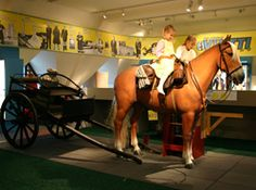 Workshop Vintti in National Museum, Helsinki, Finland. In VINTTI you can harness a horse for riding or pulling a cart. Photo: National Board of Antiquities / Hanna Forssell // Työpaja Vintti on Kansallismuseo kokien. My kids' favourite!