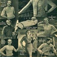 Vintage Knitting Patterns- 8 Designs, Dress, Twinset, Jumpers Etc pdf download