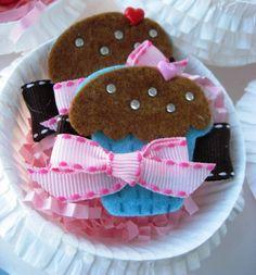 $8 Cupcake Hair Bows