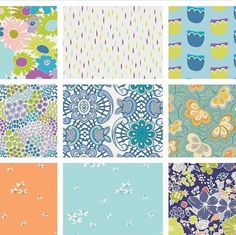 March madness sale in these art gallery prints. $5.50 a yard !  Spring dresses , pillows, quilts, crib sheets !