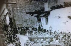 Cristo de las Indulgencias (Cáceres) por calle Tiendas