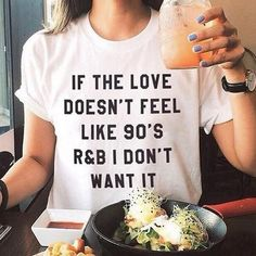 A graphic shirt 80's and 90's kids can appreciate.