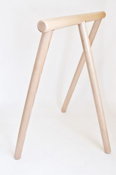 The Simple Rustic line of furniture proves that minimal design doesnt have to be cold or sterile. Classic shapes, rounded edges, and unfinished pine give the Rustic Log Furniture, Inexpensive Furniture, Solid Wood Furniture, Unique Furniture, Furniture Decor, Kitchen Furniture, Rustic Stools, Wooden Stools, Wood Table Legs