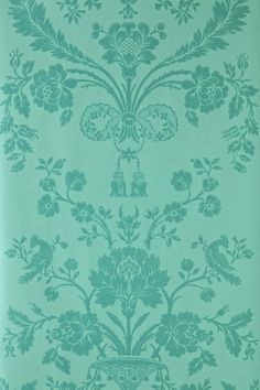 Farrow & Ball St. Antoine wallpaper green