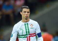When you get cropped out of a friend's photo.   27 Cristiano Ronaldo Reactions For Everyday Situations