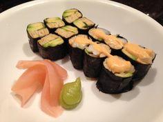 Keto Sushi --- Make sure pickled ginger is sugar-free.