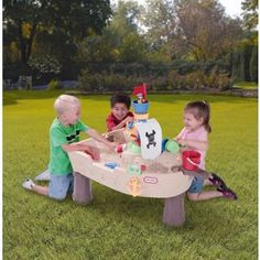 Buy Little Tikes Anchors Away Pirate Ship Water Playset at Argos.co.uk - Your Online Shop for Water toys and games.