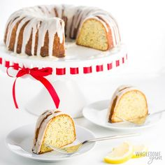 No one will guess that this easy lemon poppy seed bundt cake with almond flour has no sugar or grains. It's the best low carb gluten-free pound cake recipe I've ever had - and prep takes just 15 minutes!