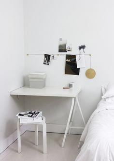 Uno spazio di lavoro piccolo, ma funzionale e accogliente