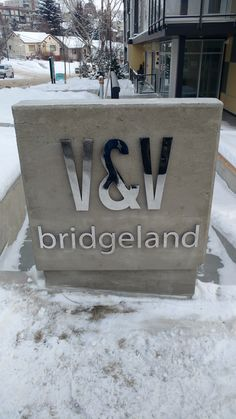 This eye-catching signage completed by Speedpro Signs Calgary DT. Outdoor Signage, Calgary, Classy, Eye, Signs, Exterior Signage, Shop Signs, Sign, Elegant