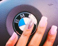 Love my nail tec. Acrylic base. Morgan Taylor nail polish.