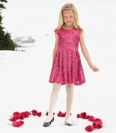 pink sequin twirl dress - the holidays call for sparkle and this gorgeous dress obliges. covered with sequins that catch the light, it has pleats at the waist so the skirt twirls when she pirouettes.